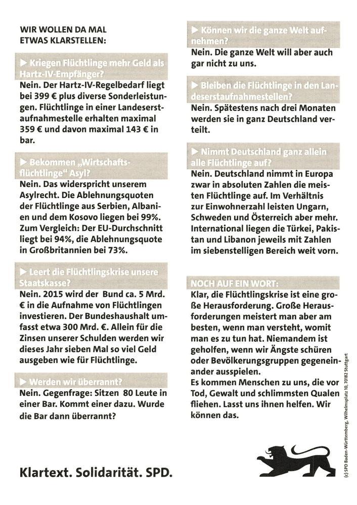 Start - SPD Rauenberg